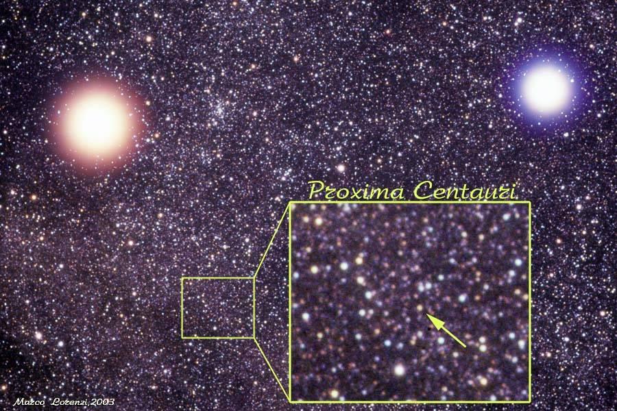 Dünyaya en yakın yıldız Proxima Centauridir 52