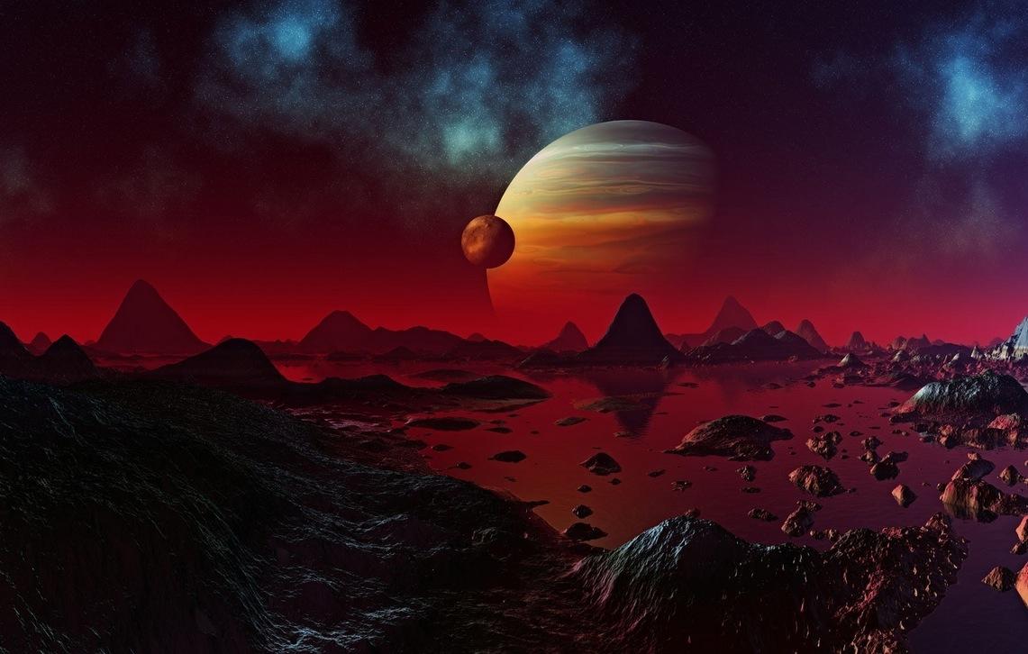 Gaz Devi Gezegenlerin Uydularında Yaşam