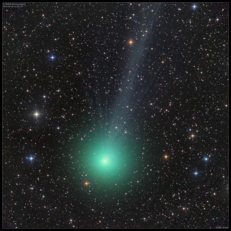 Lovejoy Kuyruklu Yıldızı Çıplak Gözle Görülebiliyor 38