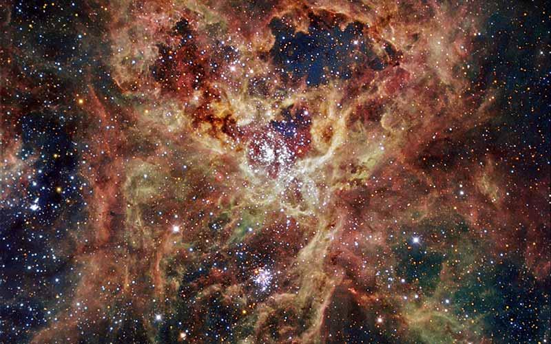 Samanyolu'nun yaklaşmakta olan galaktik çarpışması yeni yıldızları doğuruyor…