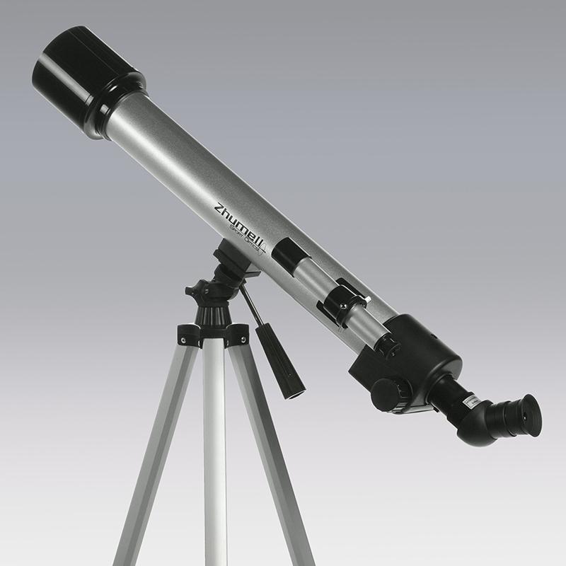Teleskop tüpünün altında görünen alt-az kurgu