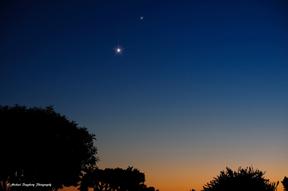 venus-saturn-Michael-Daugherty-9-18-2013