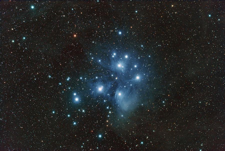 Pleiades(M45) Açık Yıldız Kümesi