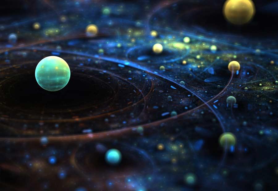 Eğri Uzay Zaman Basitçe Nedir?