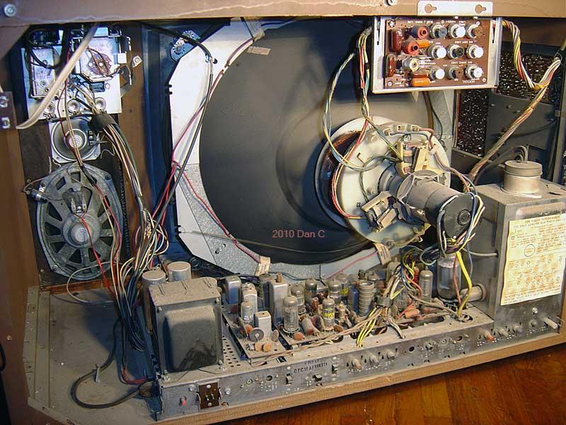 Old television katot tube