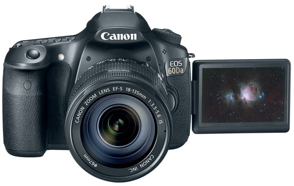 Bir DSLR kamera olan Canon EOS 60Da