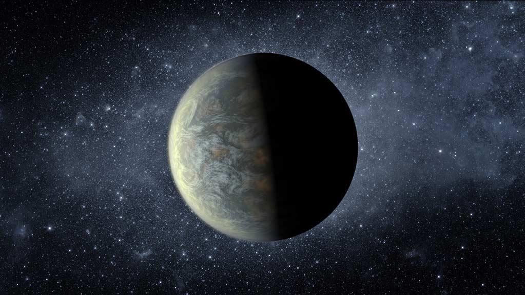 Kepler 20f gezegeninin bir sanatçı tarafından tasviri.