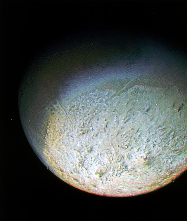Neptün'ün uydusu Triton