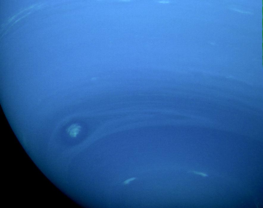 Neptün'ün güney yarım küresi