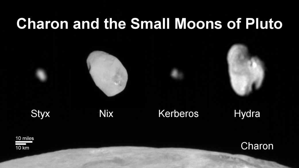 Plüton'un küçük uyduları