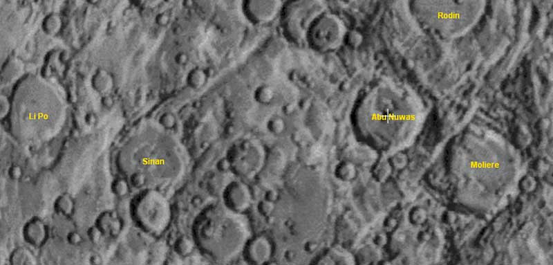"""Merkür'deki """"Sinan Krateri""""..."""