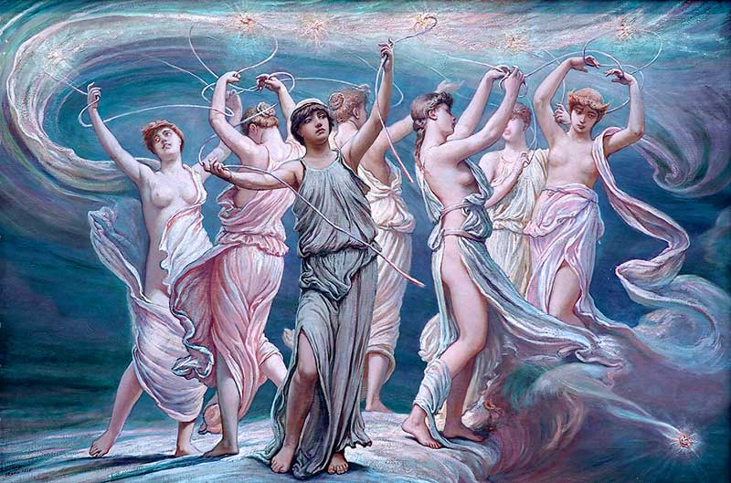 Pleiades_by_Elihu_Vedder