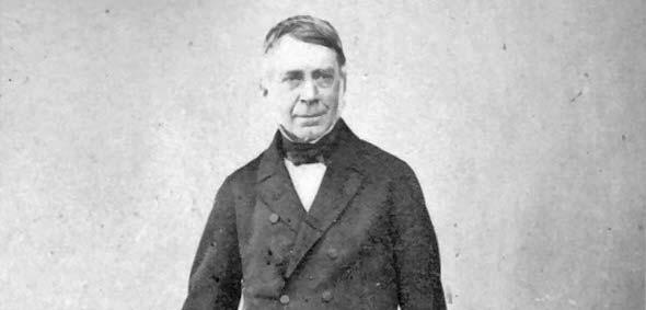 Nüptün'ün varlığı ile ilgili çalışmaları bir türlü dikkate almayan huysuz ihtiyar, George Biddel Airy.