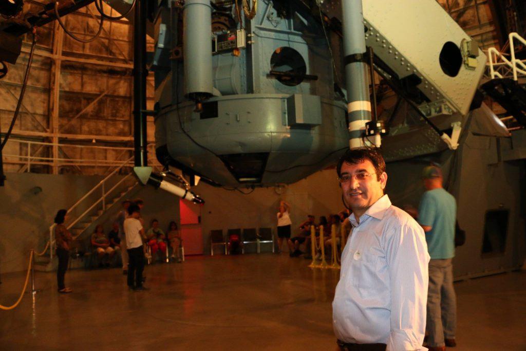 Hubble'ın kullandığı Hooker teleskobu