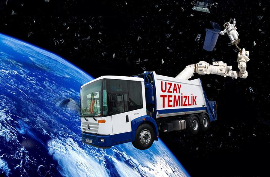 Uzay Çöpleri ile Mücadele