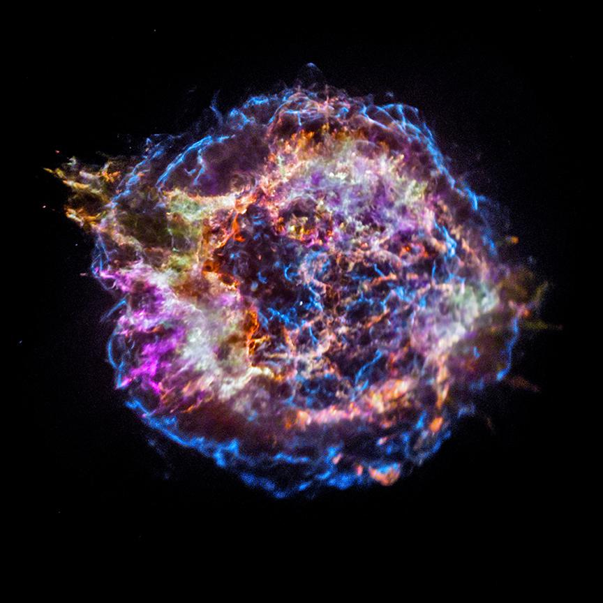 Günün Gökbilim Görüntüsü (28-12-2017) Cassiopeia A Geri Dönüşüyor