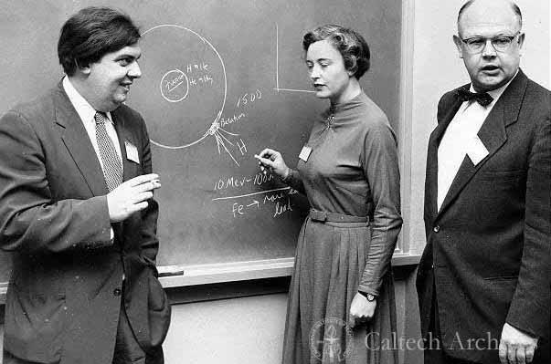 William Fowler Geoffrey and Margaret Burbidge
