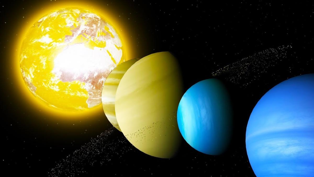 Ortak Kütle Merkezi: Dünya'nın Güneş Etrafında Hareketi
