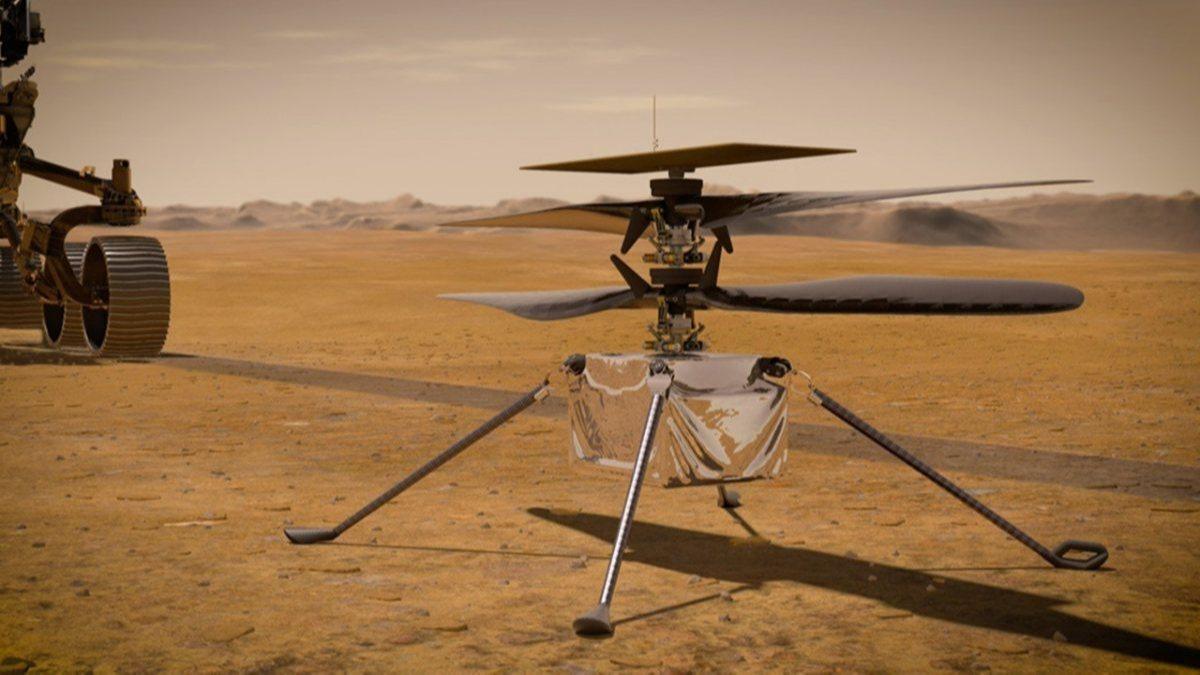 Mars Helikopteri Ingenuity ile Mars'ta İlk Kez Uçuyoruz!